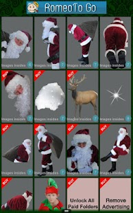 Santa Cam Phone-Christmas App - screenshot thumbnail