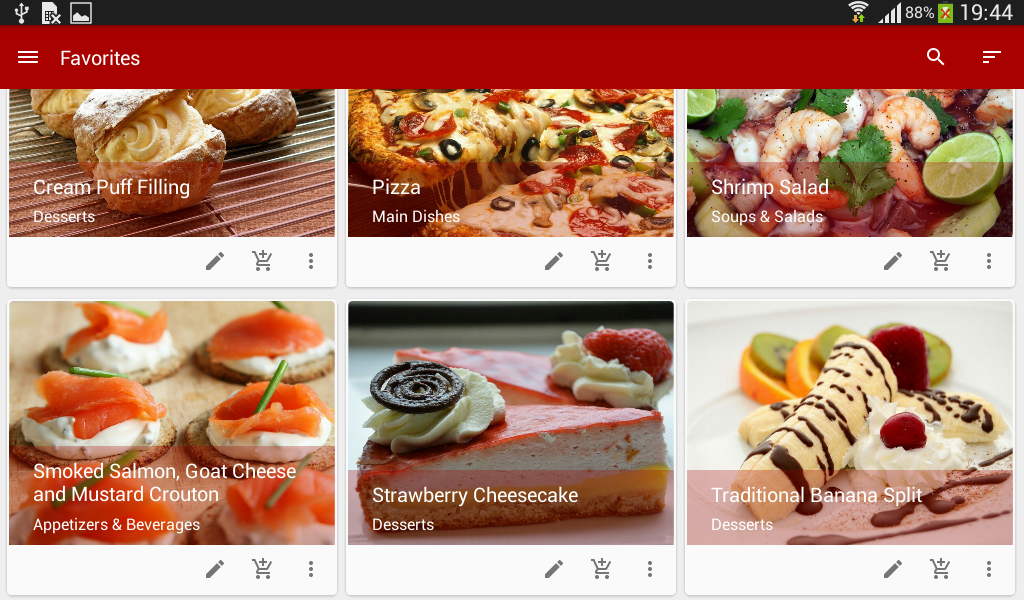 My cookbox cookbook android apps on google play my cookbox cookbook screenshot forumfinder Image collections