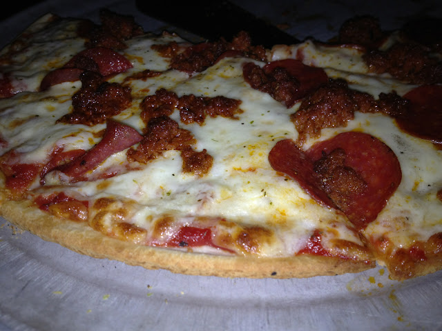 Gluten free crust is for a 10