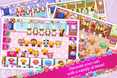Cinderella Cafe - screenshot