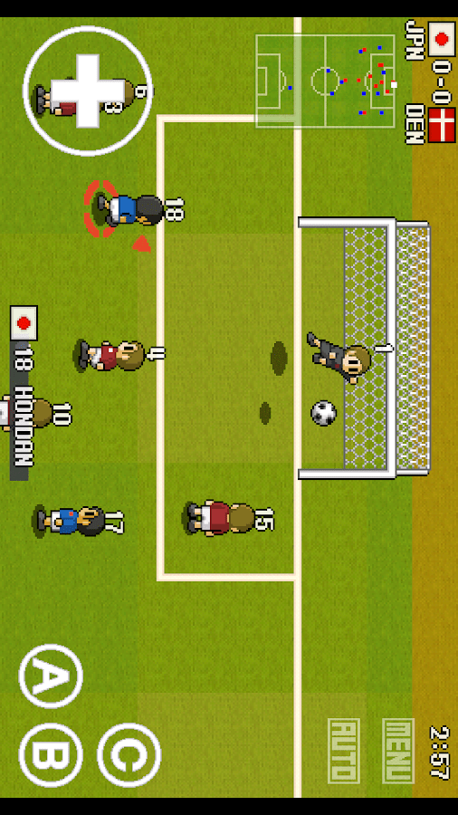 PORTABLE SOCCER DX Lite - screenshot