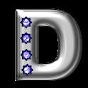 Bling-bling D-monogram logo