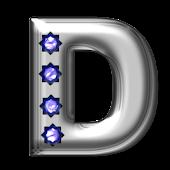 Bling-bling D-monogram