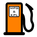 Fuel MPG & KPL Calculator icon