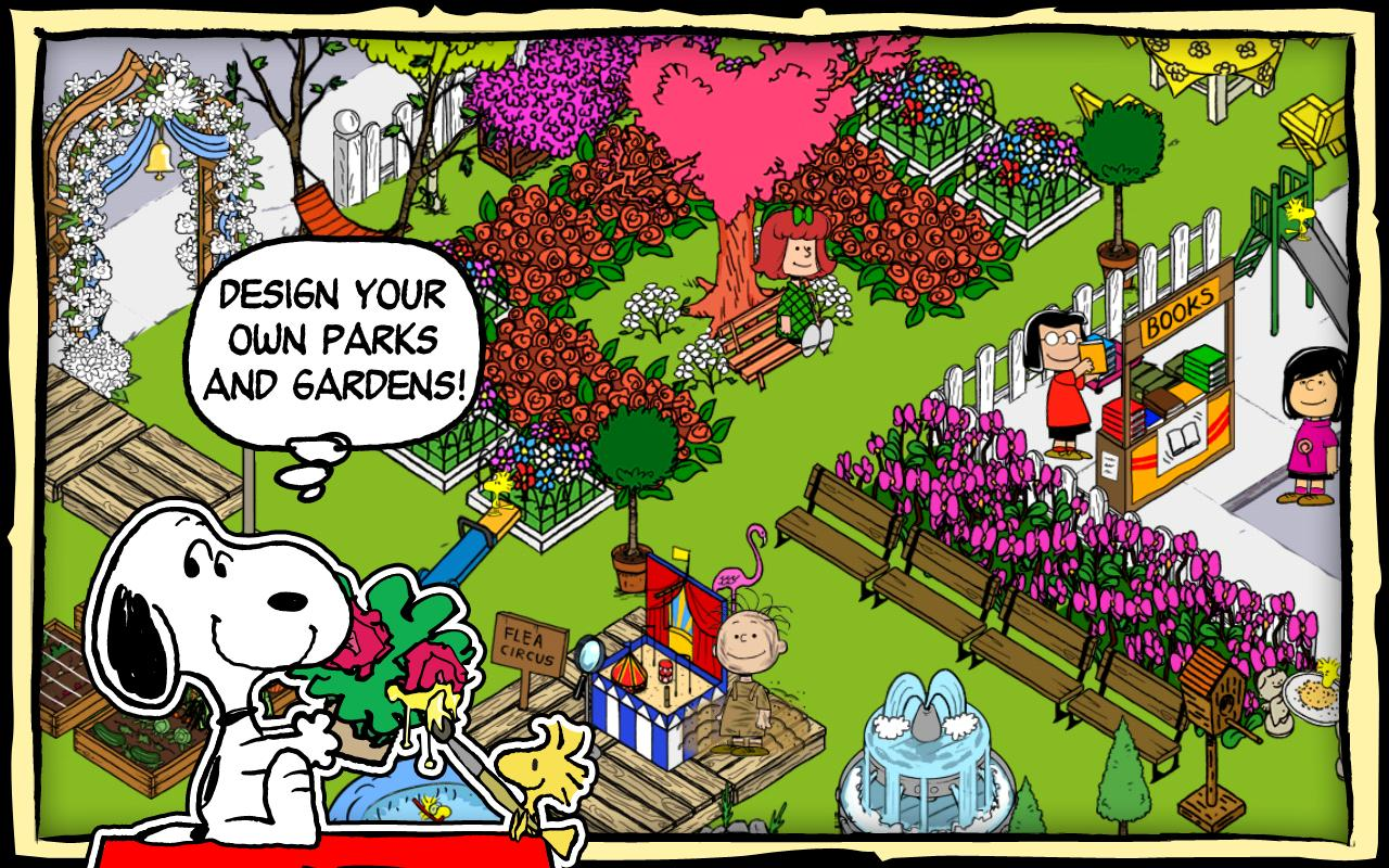 Snoopy's Street Fair - screenshot