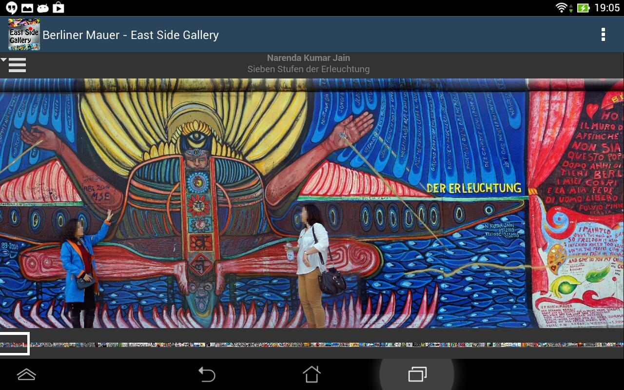Berl. Mauer: East Side Gallery – Screenshot