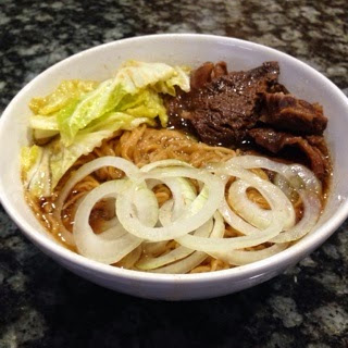 Simple Beef Mami/Beef Noodle Soup