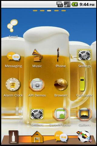 啤酒主題GO桌面EX