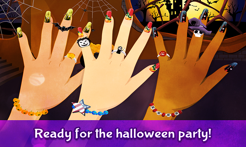 Halloween Nails – Nail Game- screenshot
