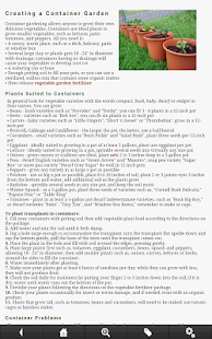 Vegetable Gardening Guide- screenshot thumbnail