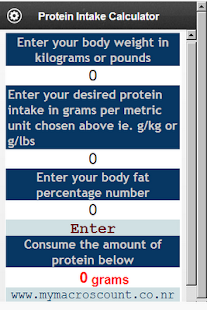 a calculation of the recommended protein intake Recommended protein intake/day for strength training: 25-35% calculate your fat target as the iom says, fat is one of the key energy sources for our body, but it's a lot more than that.