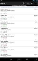 Screenshot of MobileBiz Pro - Invoice App