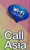 Screenshot of call Asia