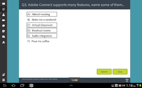 Adobe® Connect™ Mobile - screenshot thumbnail