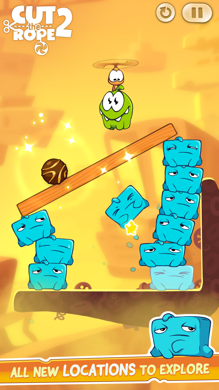Cut The Rope 2 Mod Apk (Unlimited Money/Energy) 5