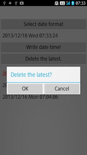 Lock Date Time Memo 1.4.1 Windows u7528 4