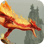 Flaming Red Dragon a live APK icon