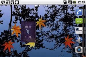Screenshot of Planetary Hours Widget