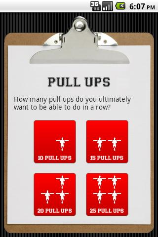 Pull Ups - screenshot