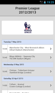 Football Live Scores - screenshot thumbnail