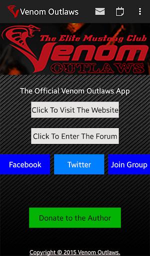 Venom Outlaws Mustang Club