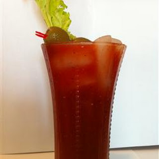 Spicy Bloody Mary Mix.