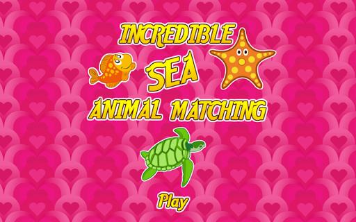 【免費休閒App】Incredible Sea Animal Matching-APP點子