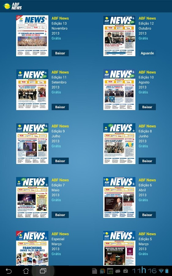ABF News- screenshot