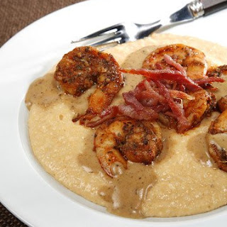 General Oglethorpe's Shrimp and Grits