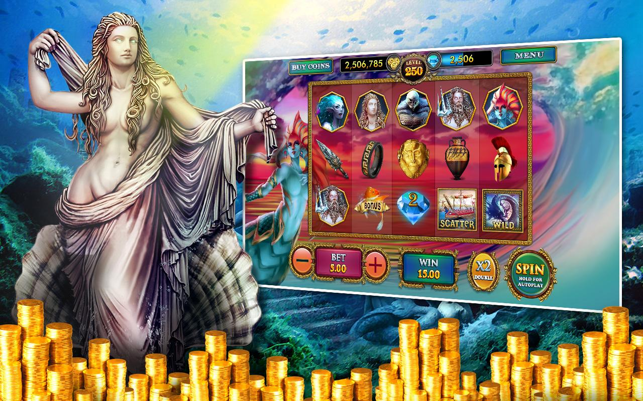 Slots Poseidon's Kingdom Pokie - screenshot