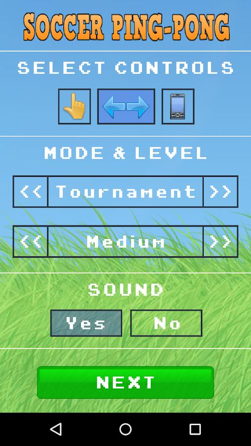 Soccer Ping-Pong - screenshot
