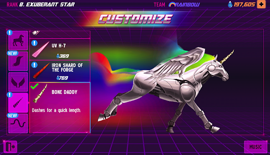 Robot Unicorn Attack 2- screenshot thumbnail