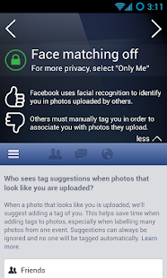 PrivacyFix for Social Networks - screenshot thumbnail