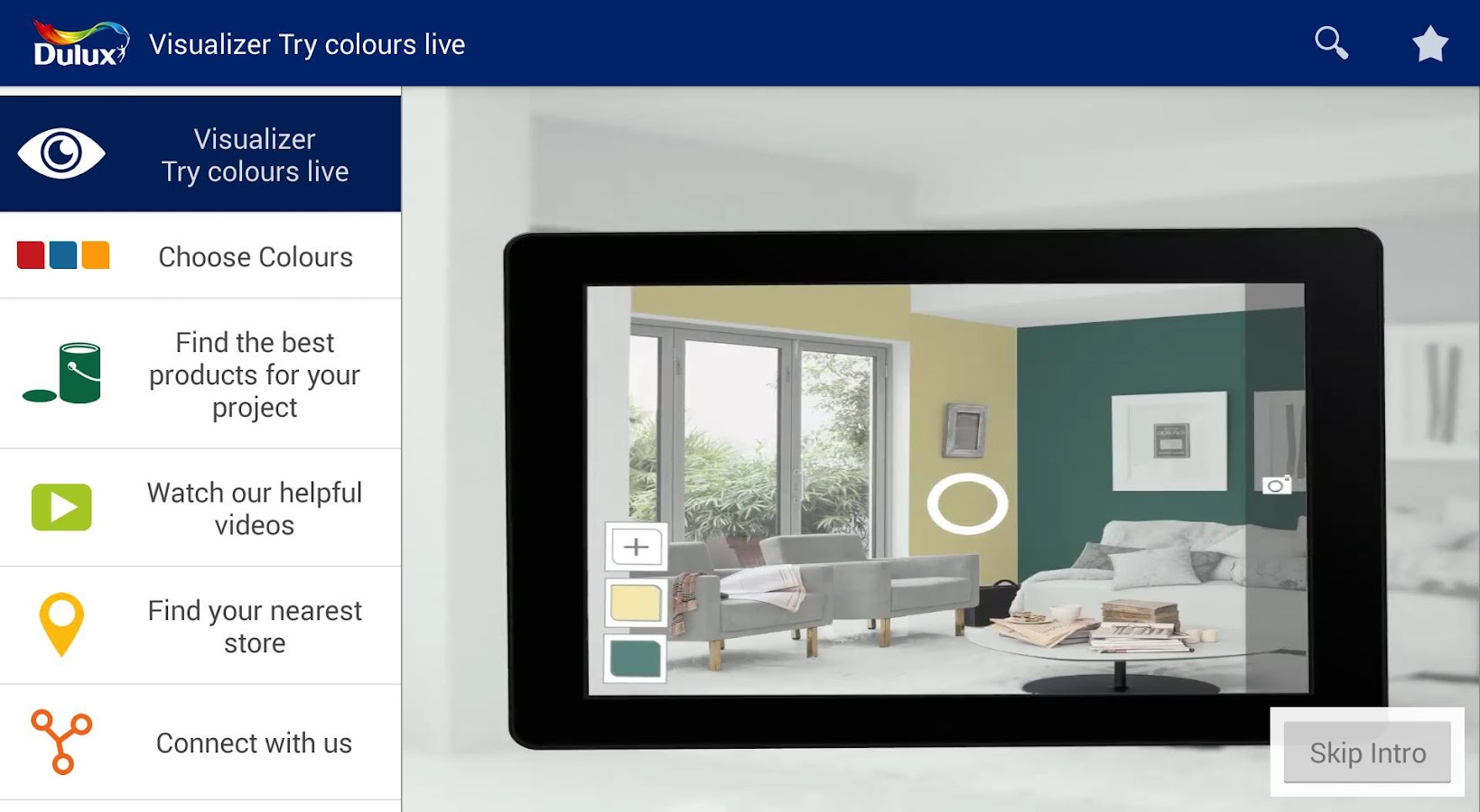 Dulux visualizer hk android apps on google play for App for painting walls