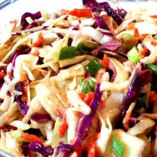 Spicy Korean Coleslaw