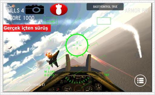 F16 Uçak Savaş Oyunu