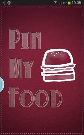 Pin My Food-Your places agenda