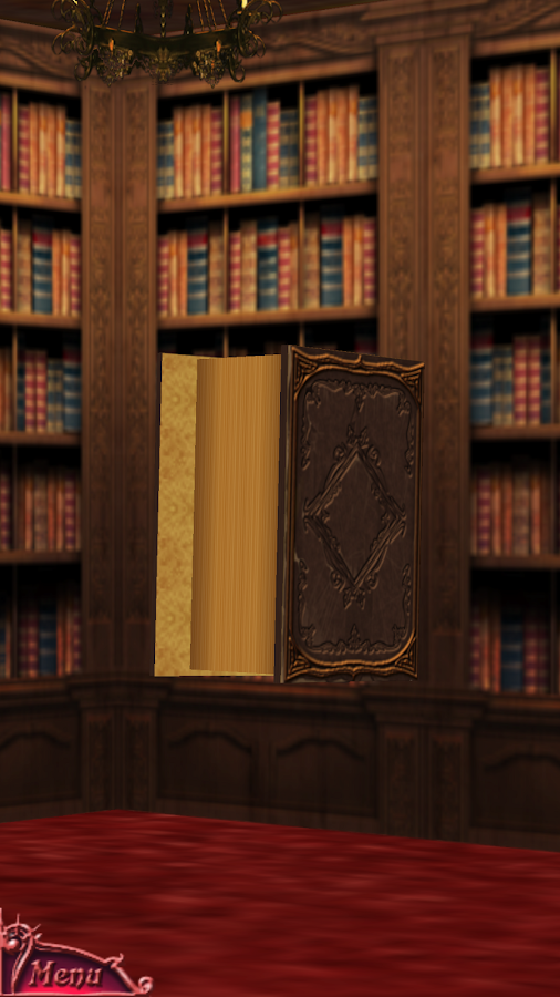 Bibliomancy- screenshot