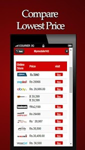 Mobile Price Compare and Buy screenshot 1