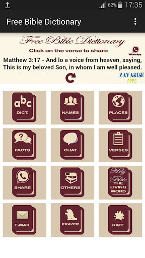 【免費書籍App】FREE BIBLE DICTIONARY-APP點子