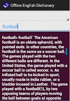 Screenshot of English++ Offline Dictionary