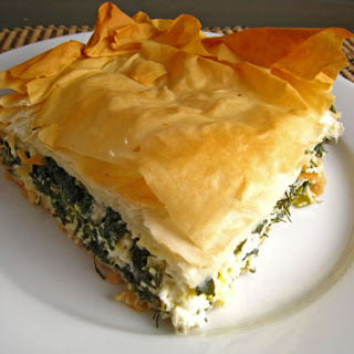 Greek Spinach Pie With Feta Cheese Recipes.