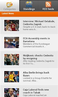 Sport news - screenshot thumbnail