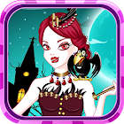 Queen of vampire girl game icon
