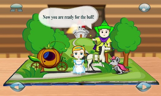 Cinderella : 3D Pop-up Book - screenshot thumbnail