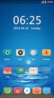 Screenshot of Exist GO Launcher Theme