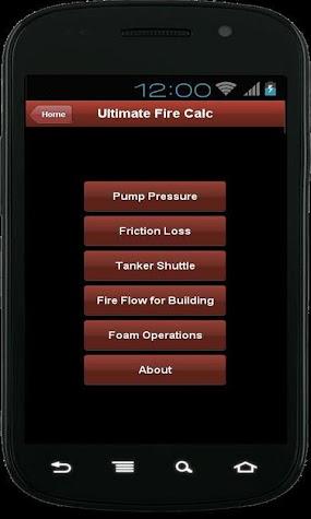 Ultimate Fire Calculator Screenshot