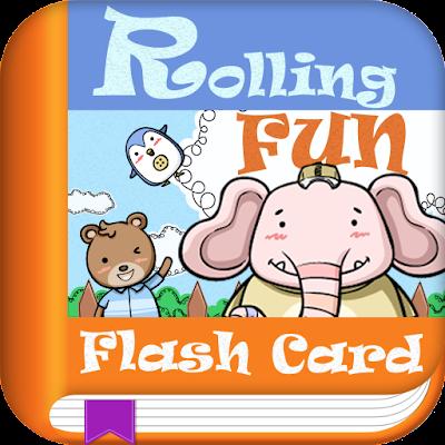 Rolling Fun Flash Card