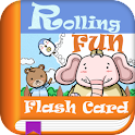 Rolling Fun Flash Card logo