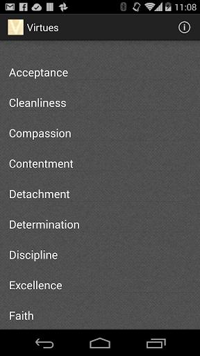 Virtues Baha'i text